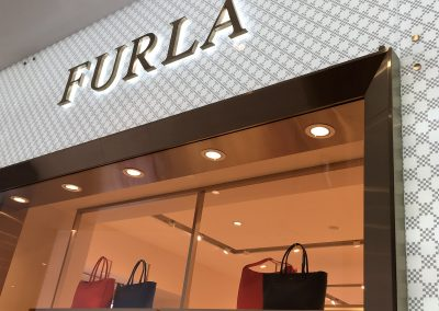 Furla Shop Fitting Pacific Fair