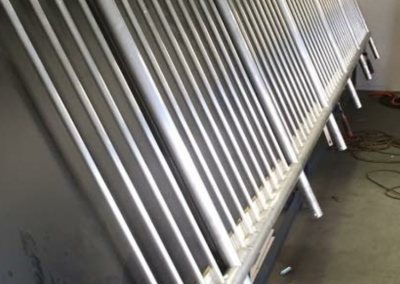 External Railing by SF Fabrications